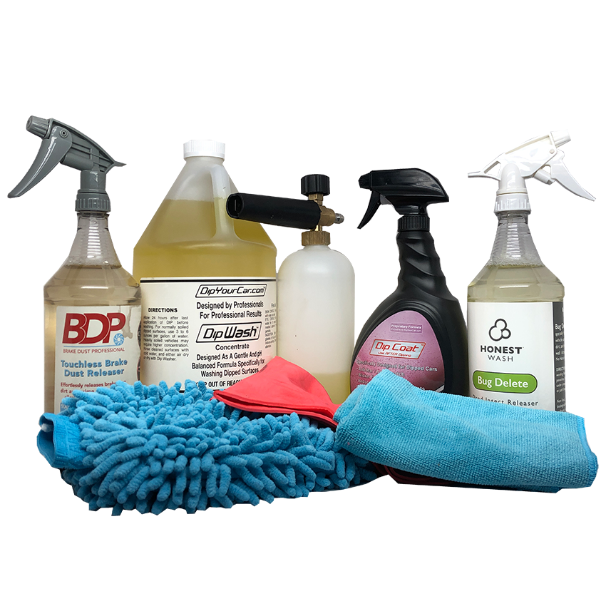 Ultimate Dip Cleaning, Detailing and Maintenance Kit