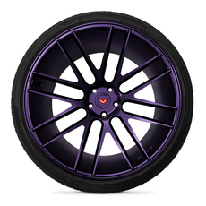 Violet Metalizer Wheel Kit