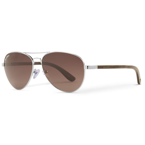 Blackwood Vineyard Aviators Vintage | Brown Gradient Lenses
