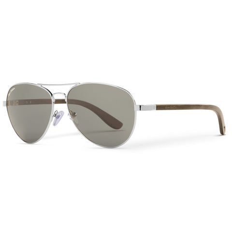 Blackwood Vineyard Aviators Vintage | Grey Lenses