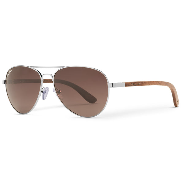 Redwood Vineyard Aviators Vintage | Brown Gradient Lenses