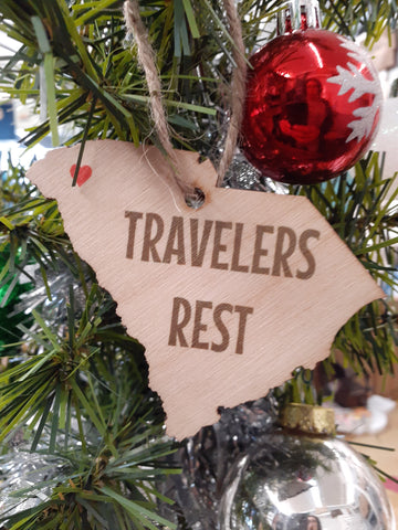 ❤ Travelers Rest Ornament