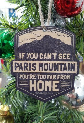 Paris Mountain Ornament