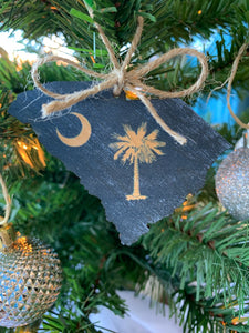 SC Palmetto Ornament