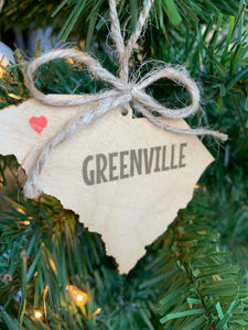 Greenville Ornament