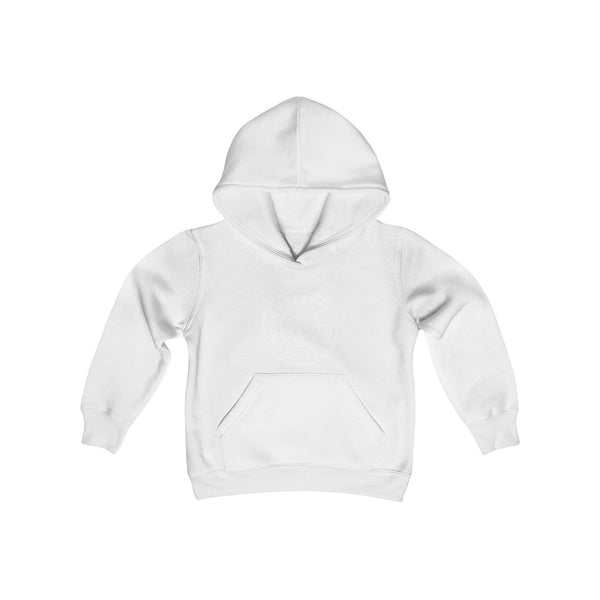 LOGO Kids Heavy Blend Hoodie - Not Dead Yet Apparel