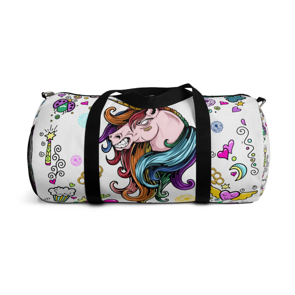 UNICORN! Ain't Nuthin Ta F' Wit! Duffle Bag - Not Dead Yet Apparel