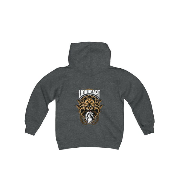 LIONHEART Kids Heavy Blend Hoodie - Not Dead Yet Apparel