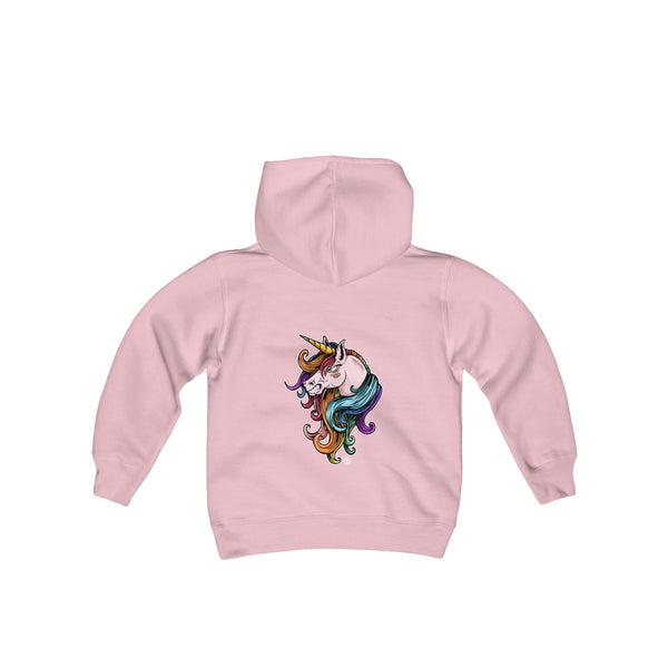 UNICORN! Kids Heavy Blend Hoodie - Not Dead Yet Apparel