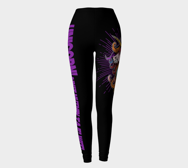 UNICORN Ain't Nuthin Ta F' Wit! Leggings - Not Dead Yet Apparel