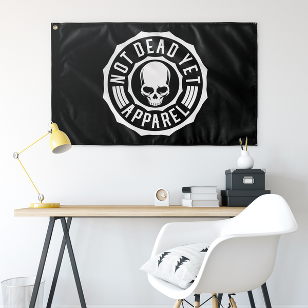 NOT DEAD YET FLAG - Not Dead Yet Apparel