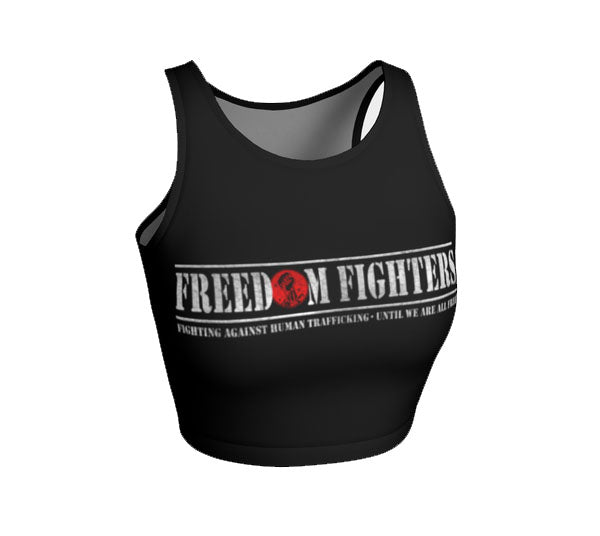 FREEDOM FIGHTER Athletic Crop Top - Not Dead Yet Apparel