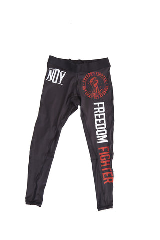 Freedom Fighter BJJ and Fitness Leggings/Spats - Not Dead Yet Apparel