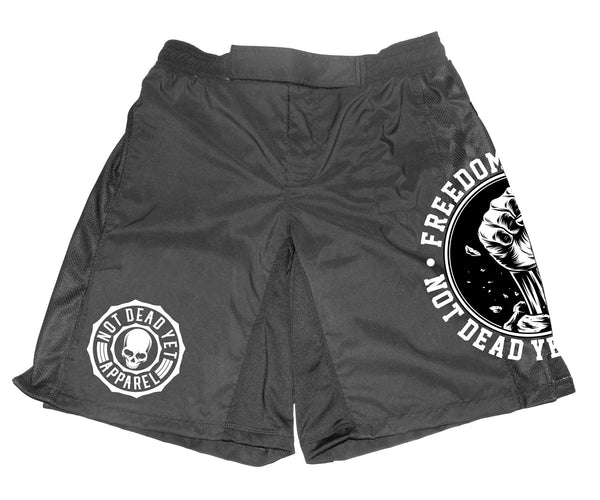 FREEDOM FIGHTER CROSS TRAINING/ FIGHT SHORTS - Not Dead Yet Apparel