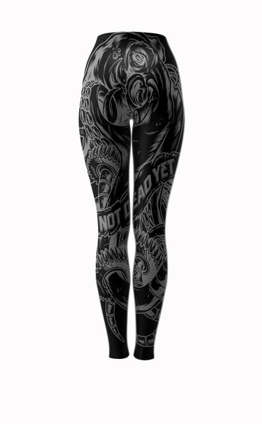 OCTOPUS PRIME BJJ and Fitness Leggings/Spats - Not Dead Yet Apparel