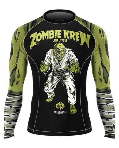 ZOMBIE KREW BJJ RASH GUARD - Not Dead Yet Apparel
