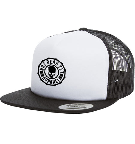 Logo Trucker Hat - Not Dead Yet Apparel