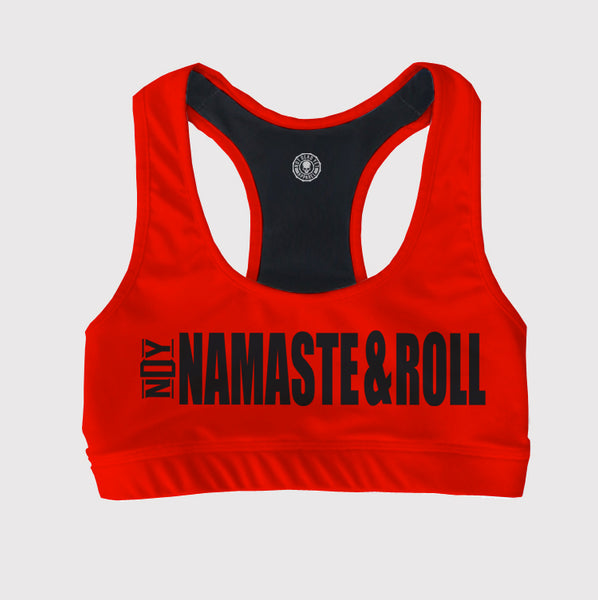 NAMASTE&ROLL SPORTS BRA - Not Dead Yet Apparel