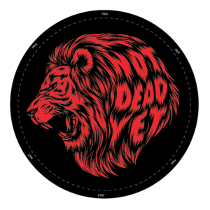 NDY LION GI PATCH - Not Dead Yet Apparel
