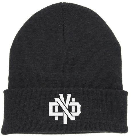 NDY STACKED LOGO BEANIE - Not Dead Yet Apparel