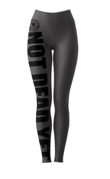 NOT DEAD YET BJJ and Fitness Leggings/Spats - Not Dead Yet Apparel