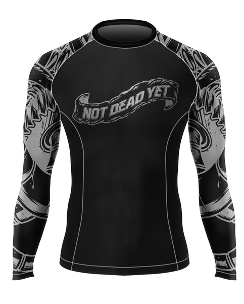 OCTOPUS PRIME BJJ RASH GUARD - Not Dead Yet Apparel