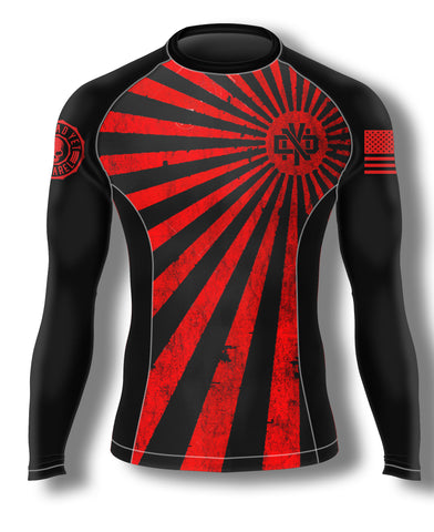 SAMURAI AF BJJ RASH GUARD - Not Dead Yet Apparel