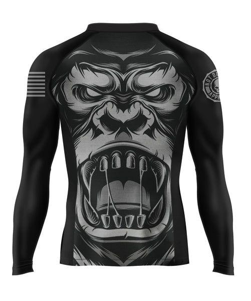 SILVERBACK Men's BJJ Rash Guard