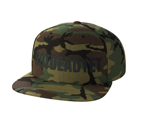 NOTDEADYET Camo Snap Back - Not Dead Yet Apparel