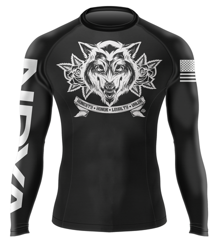 The Wolf You Feed BJJ Rashguard
