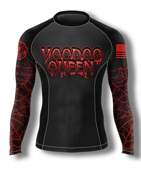 VOODOO QUEEN Women's Rash Guard