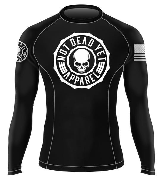 LOGO BJJ RASH GUARD - Not Dead Yet Apparel