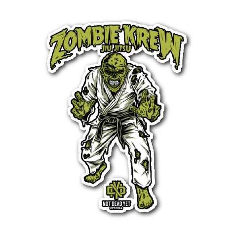 ZOMBIE KREW JIU JITSU - Not Dead Yet Apparel