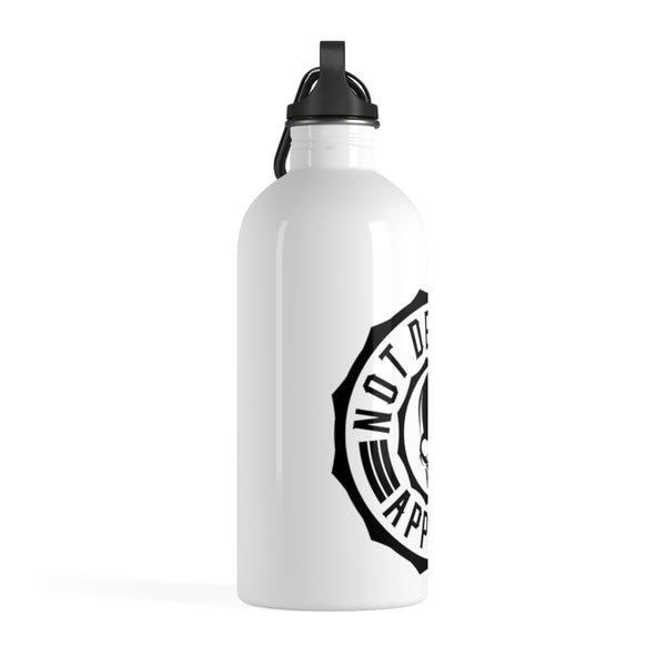 Not Dead Yet Logo Stainless Steel Water Bottle - Not Dead Yet Apparel