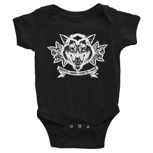 WOLF Infant Onesie - Not Dead Yet Apparel