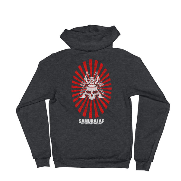 SAMURAI AF Hoodie sweater - Not Dead Yet Apparel