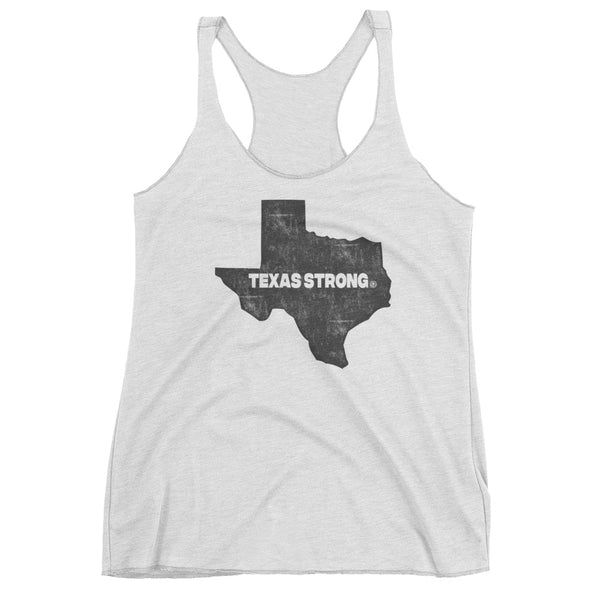TEXAS STRONG - Hurricane Harvey Relief Women's tank top - Not Dead Yet Apparel