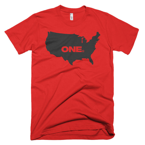 ONE (America) - Short sleeve men's t-shirt - Not Dead Yet Apparel
