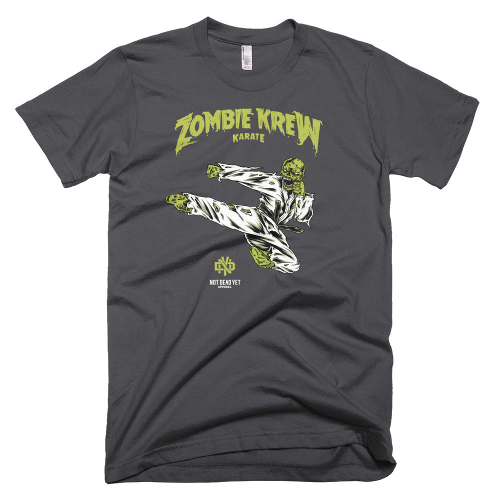 ZOMBIE KREW KARATE Short-Sleeve T-Shirt - Not Dead Yet Apparel