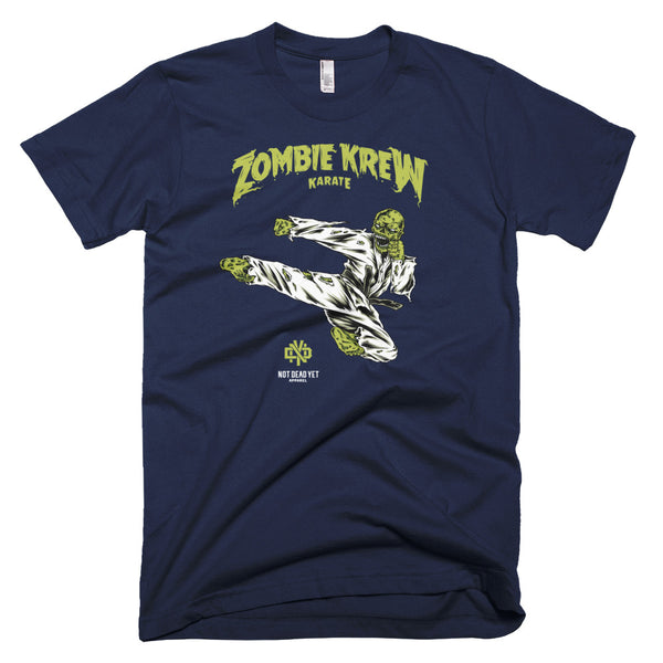ZOMBIE KREW KARATE Short-Sleeve T-Shirt