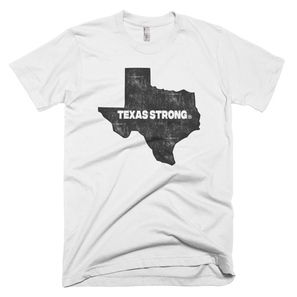 TEXAS STRONG - Hurricane Harvey Relief Short sleeve men's t-shirt - Not Dead Yet Apparel