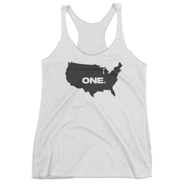 ONE (America) - Women's tank top - Not Dead Yet Apparel