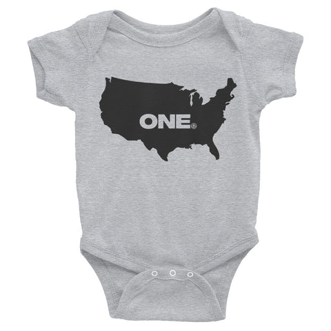 ONE (America) - Infant Bodysuit - Not Dead Yet Apparel