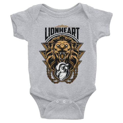 LIONHEART Infant Onesie - Not Dead Yet Apparel