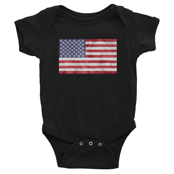 NDYA FLAG Infant Onesie - Not Dead Yet Apparel