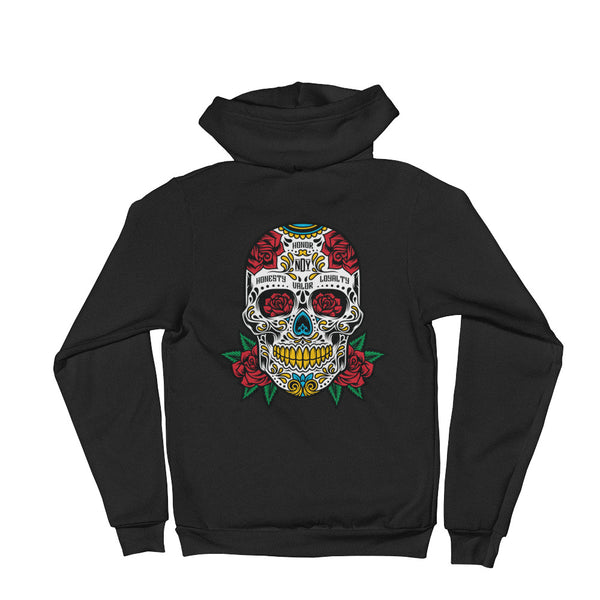 Sugar Skull Hoodie sweater - Not Dead Yet Apparel