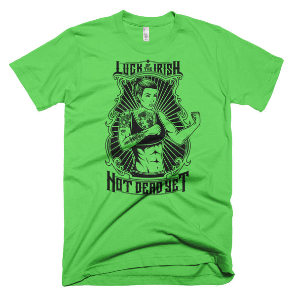 LADY LUCK (Luck of the Irish) Short-Sleeve T-Shirt - Not Dead Yet Apparel