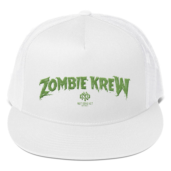 ZOMBIE KREW Trucker Cap - Not Dead Yet Apparel