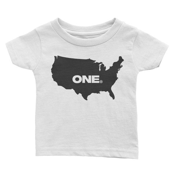 ONE (America) - Infant Tee - Not Dead Yet Apparel