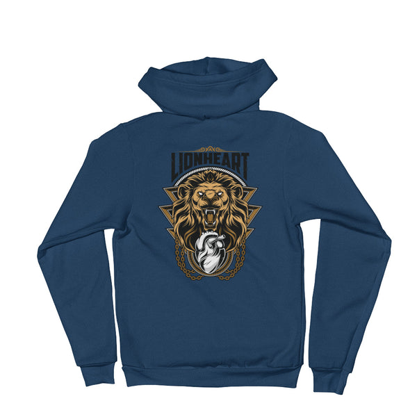 LIONHEART Hoodie sweater - Not Dead Yet Apparel